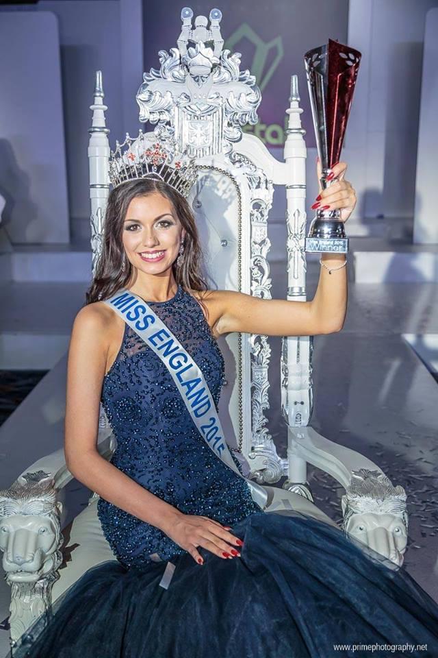 Natasha Hemmings the Miss England 2015 Winner (Photo Credits: Miss England Official Facebook)