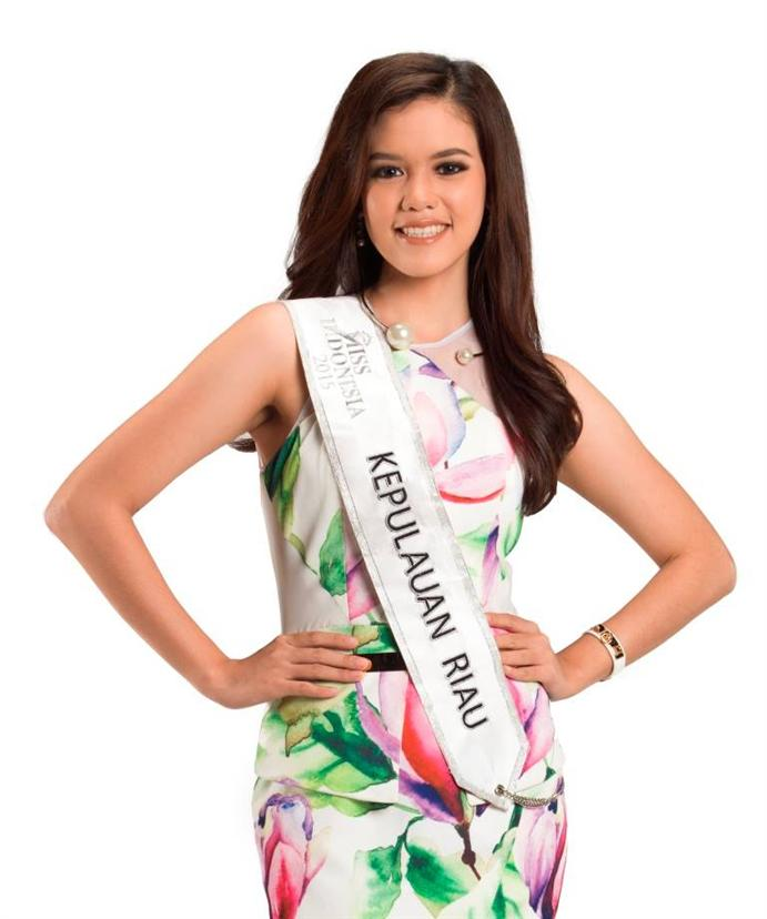 Megalina Wong Miss Indonesia 2015 Contestant