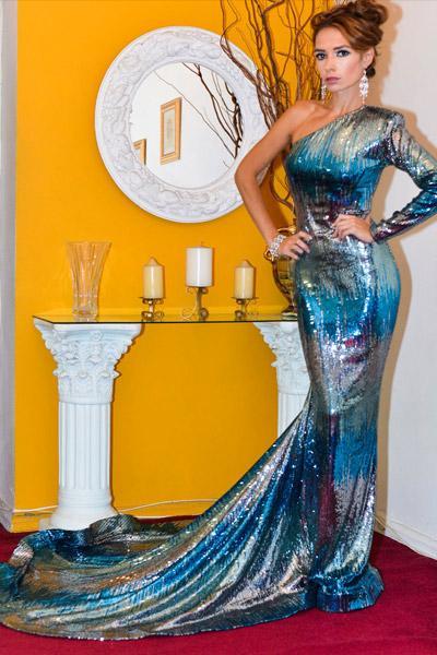 Evgenia Jen Sidorova Miss United Continents Finland 2015