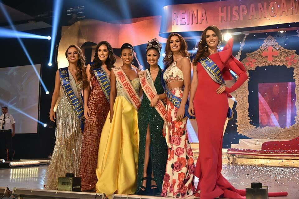 Reina Hispanoamericana 2017 Winners
