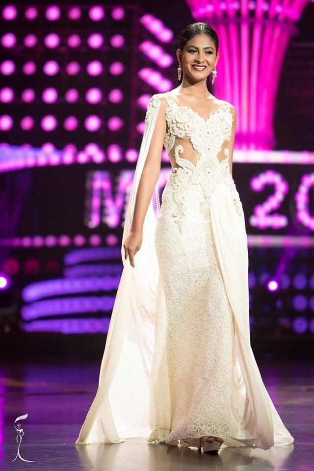 Harshani Ruman Miss Grand Sri Lanka 2016 in Evening Gown (Photo Credit: Official Facebook/ Miss Grand International Organization)