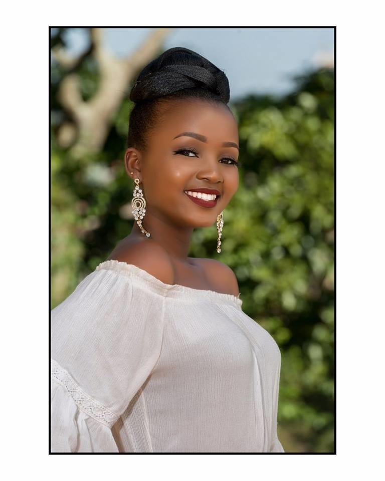 Aheebwa Patience Martha from Rukungiri - Finalist Miss World Uganda 2018 (Photo Courtesy: Miss Uganda Official)