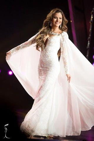 Priscila Stephany Howard Miss Grand Peru 2016 in Evening Gown (Photo Credit: Official Facebook/ Miss Grand International Organization)