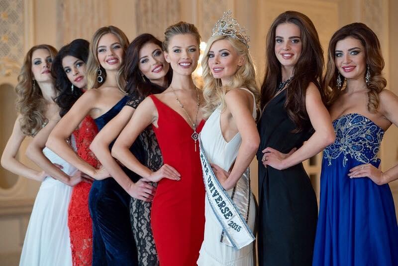 Anna Verhelskaya Miss Ukraine Universe 2015 winner