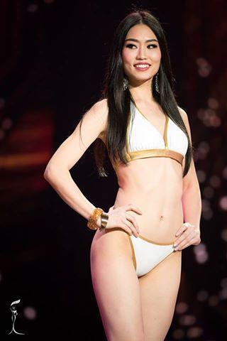 Ayaka Sato Miss Grand Japan 2016 in Swimsuit (Photo Credit: Official Facebook/ Miss Grand International Organization)