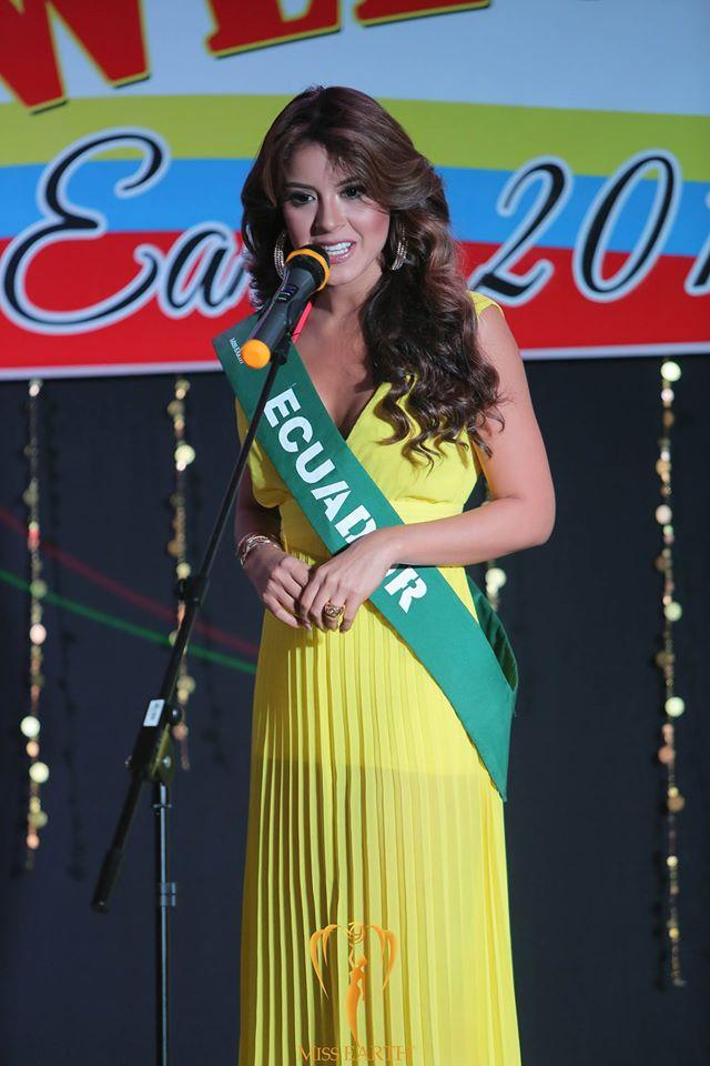 Katherine Elizabeth Espín Gómez of Ecuador crowned as Miss