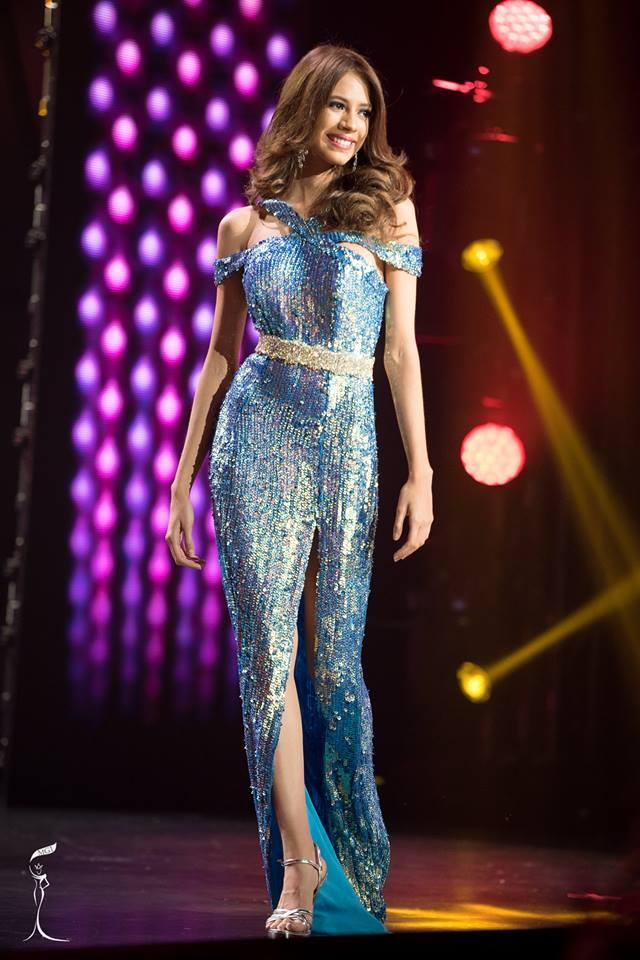 Lucero Arias Miss Grand Dominican Republic 2016 in Evening Gown (Photo Credit: Official Facebook/ Miss Grand International Organization)