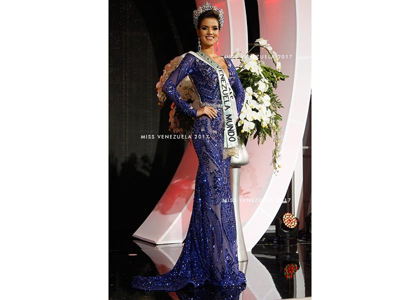 Veruska Betania Ljubisavljevic Rodríguez winner Miss World Venezuela 2018 (Photo Courtesy: Miss Venezuela Official)