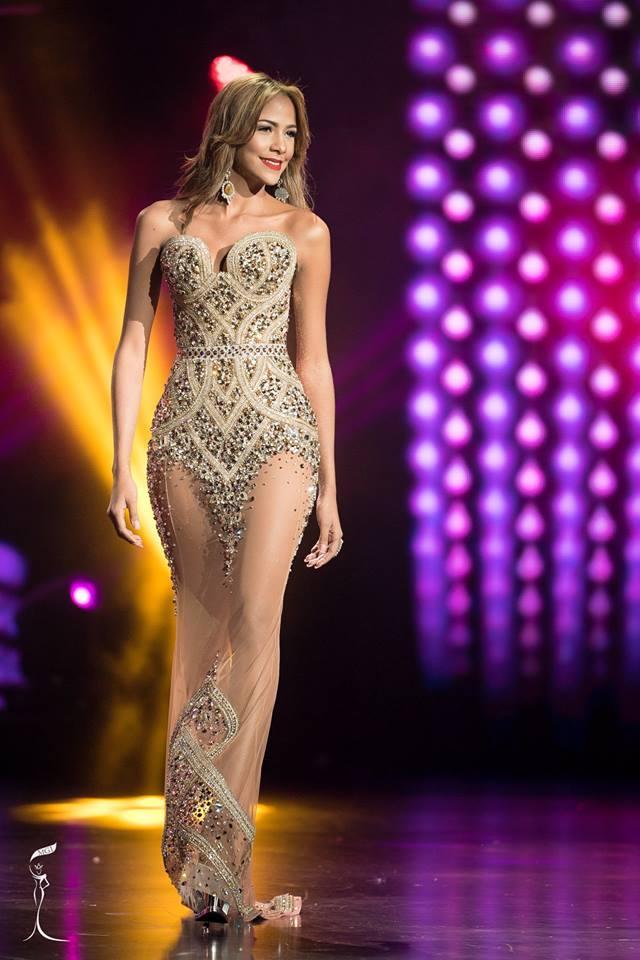 Selena Gomez Santamaria Miss Grand Panama 2016 in Evening Gown (Photo Credit: Official Facebook/ Miss Grand International Organization)