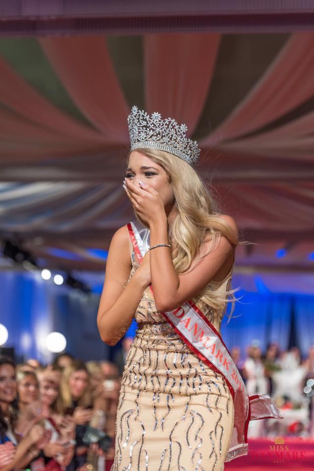 Amanda Petri winner Miss World Denmark 2017 (Photo Courtesy - Miss Danmark Official)