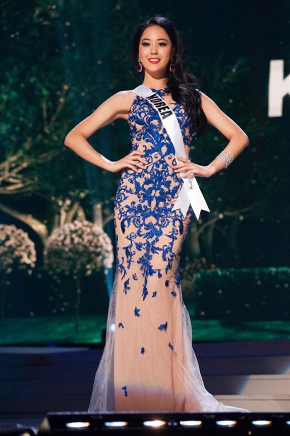 Miss Universe 2014 Photo Gallery Yoo Ye Bin (South Korea)
