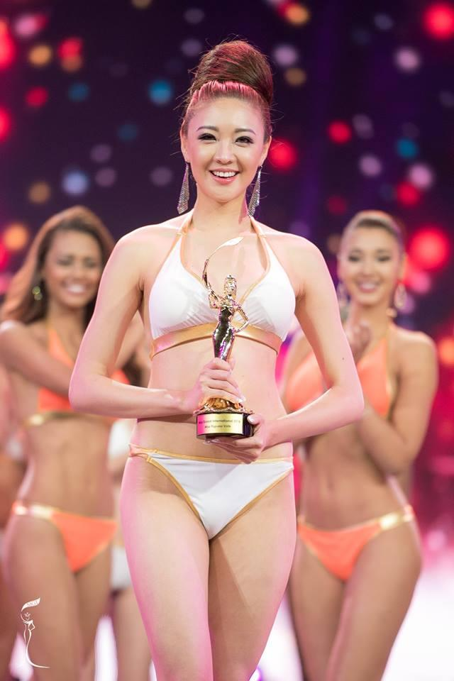 Yeseul Cho, Miss Grand Korea 2016 won Miss Popular Vote (Photo Credit: Miss Grand International Organization)