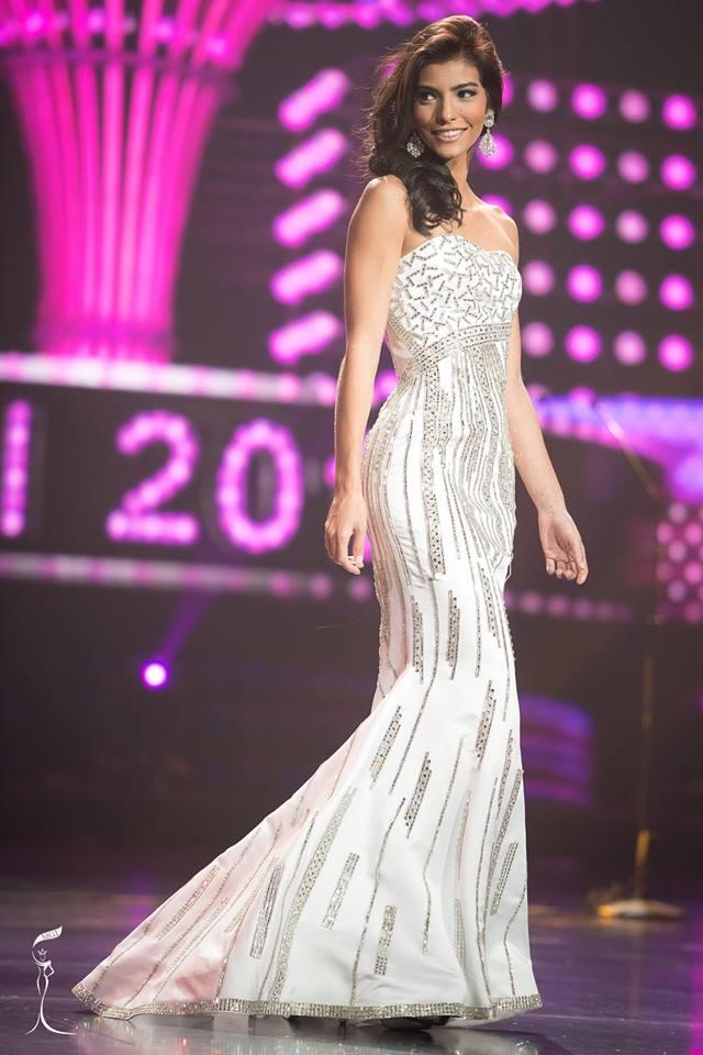 Monique Rodriguez Miss Grand Costa Rica 2016 in Evening Gown (Photo Credit: Official Facebook/ Miss Grand International Organization)