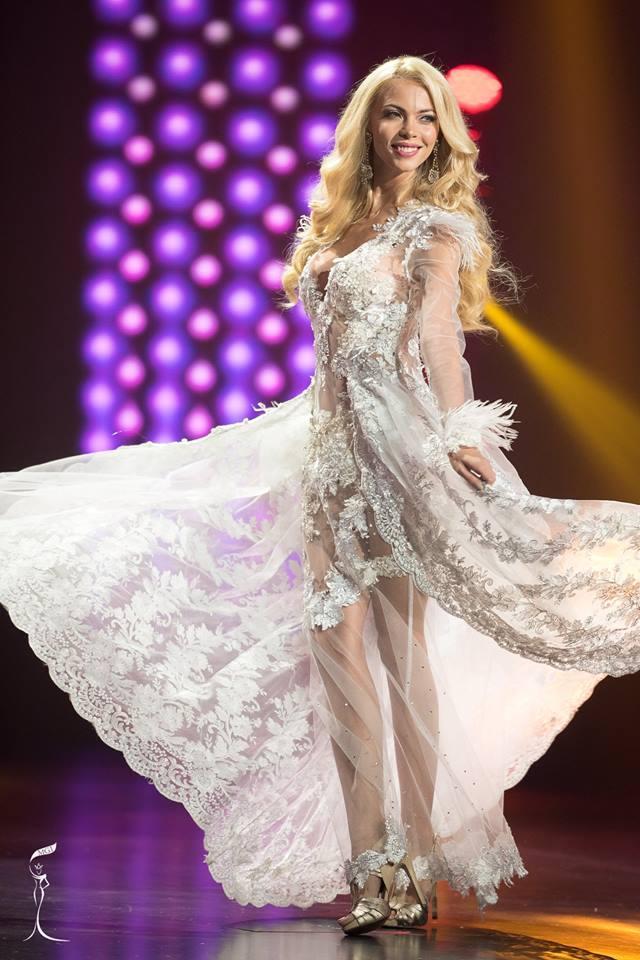 Monika Vaculikova Miss Grand Czech Republic 2016 in Evening Gown (Photo Credit: Official Facebook/ Miss Grand International Organization)