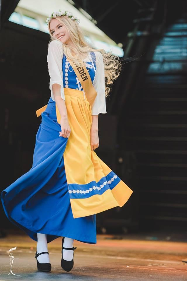 Victoria Ericsson Miss Grand Sweden 2016 in National Costume (Photo Credit: Official Facebook/ Miss Grand International Organization)