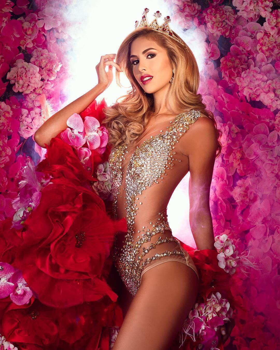 Sofía Santa Rodríguez Correa Finalist Miss Venezuela 2017 (Photo Courtesy: Miss Venezuela/Facebook Official)