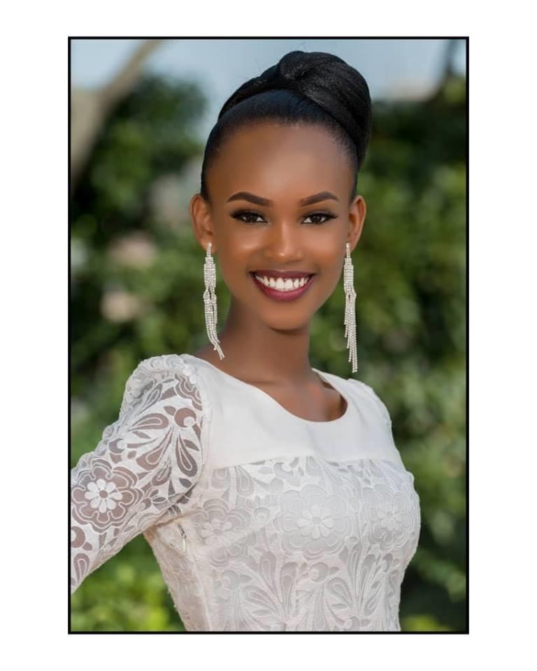 Sandra Khan Neema from Kampala - Finalist Miss World Uganda 2018 (Photo Courtesy: Miss Uganda Official)