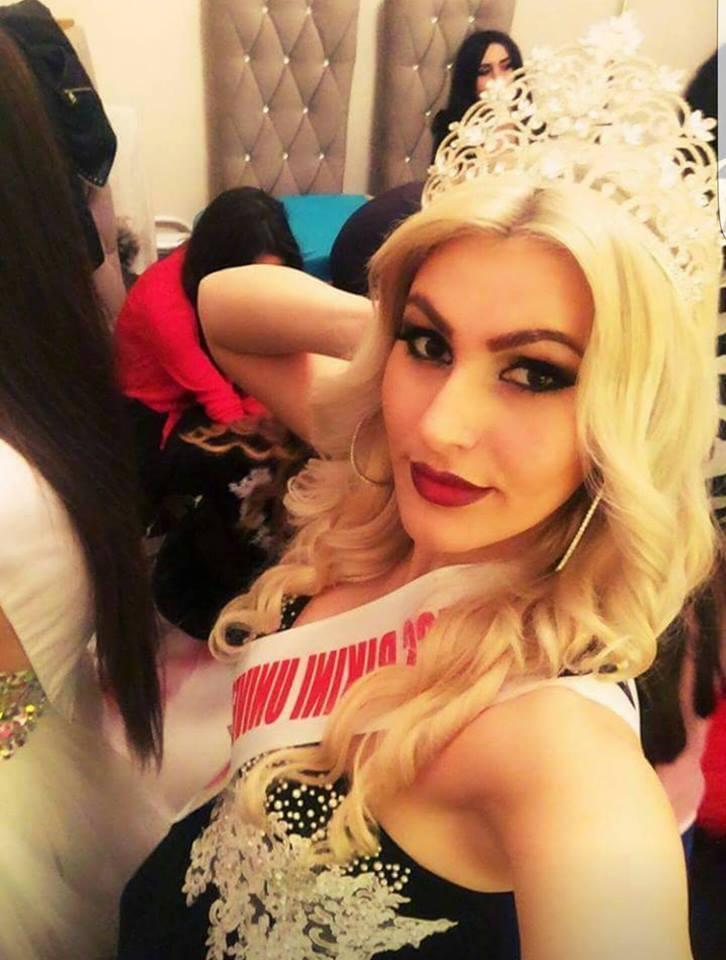 Paula Preci Miss Grand Albania 2016 (Photo Credit: Official Facebook/ Miss Grand International Organization)
