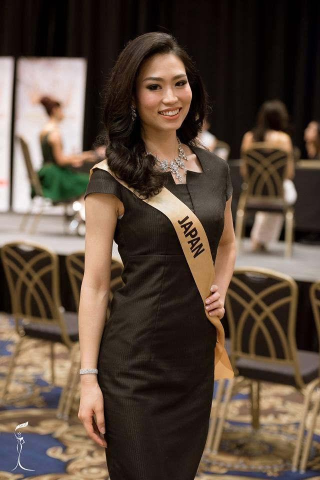 Ayaka Sato Miss Grand Japan 2016 (Photo Credit: Official Facebook/ Miss Grand International Organization)