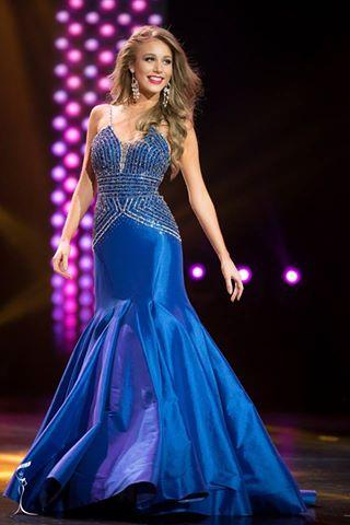 Cindy Nordmann Arias Miss Grand Paraguay 2016 in Evening Gown (Photo Credit: Official Facebook/ Miss Grand International Organization)