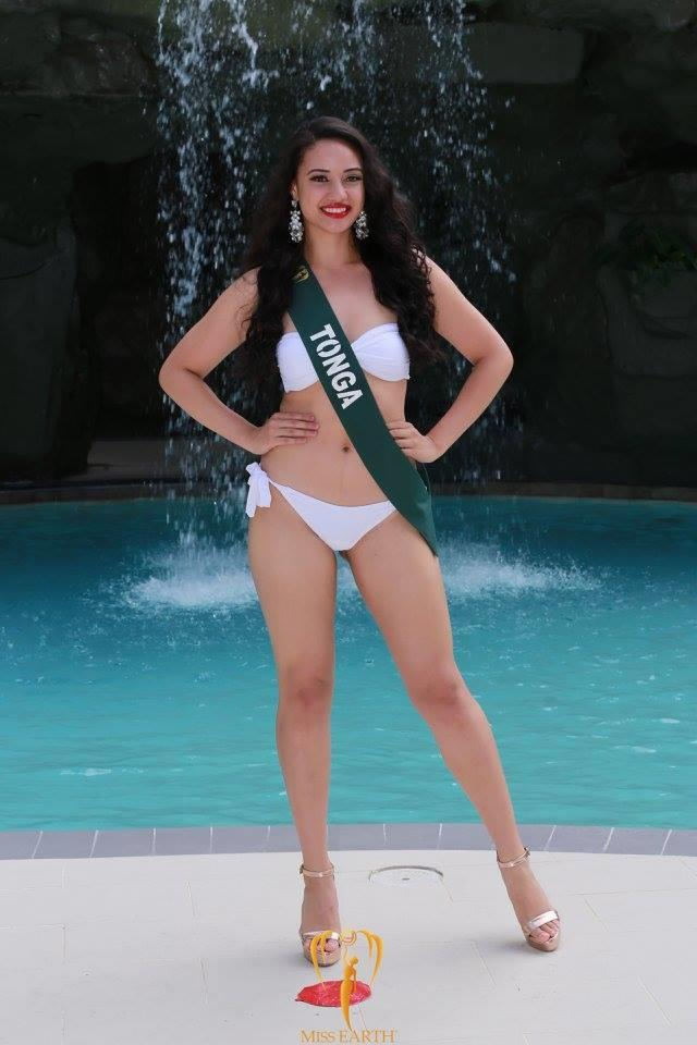 Diamond Langi from Tonga during Press Presentation at Miss Earth 2017 (Photo Courtesy: Miss Earth Official)