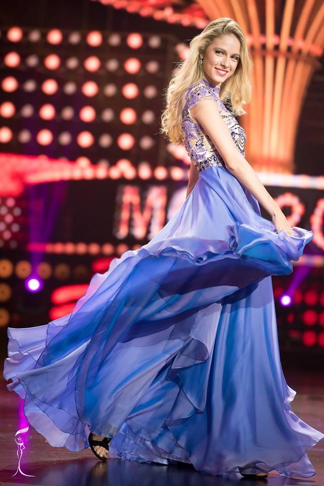 Zatsepina Daria Miss Grand Russia 2016 in Evening Gown (Photo Credit: Official Facebook/ Miss Grand International Organization)