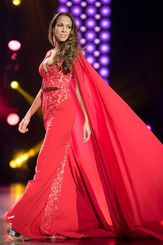 Yasmin Osee Aakre Miss Grand Norway 2016 in Evening Gown (Photo Credit: Official Facebook/ Miss Grand International Organization)