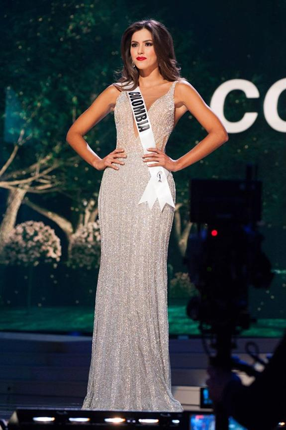 Paulina vega dieppa miss universe colombia 2014 evening gown