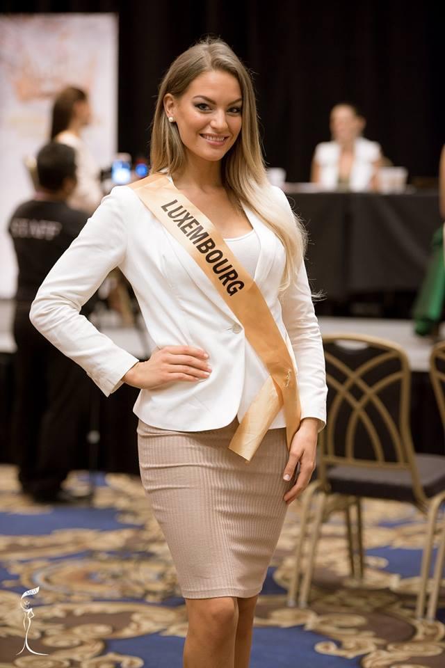 Natascha Bintz Miss Grand Luxembourg 2016 (Photo Credit: Official Facebook/ Miss Grand International Organization)