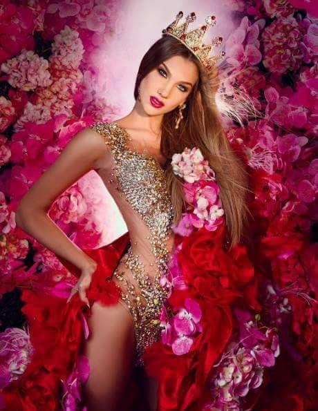 Megan Alexandra Beci Scarr Finalist Miss Venezuela 2017 (Photo Courtesy: Miss Venezuela/Facebook Official)