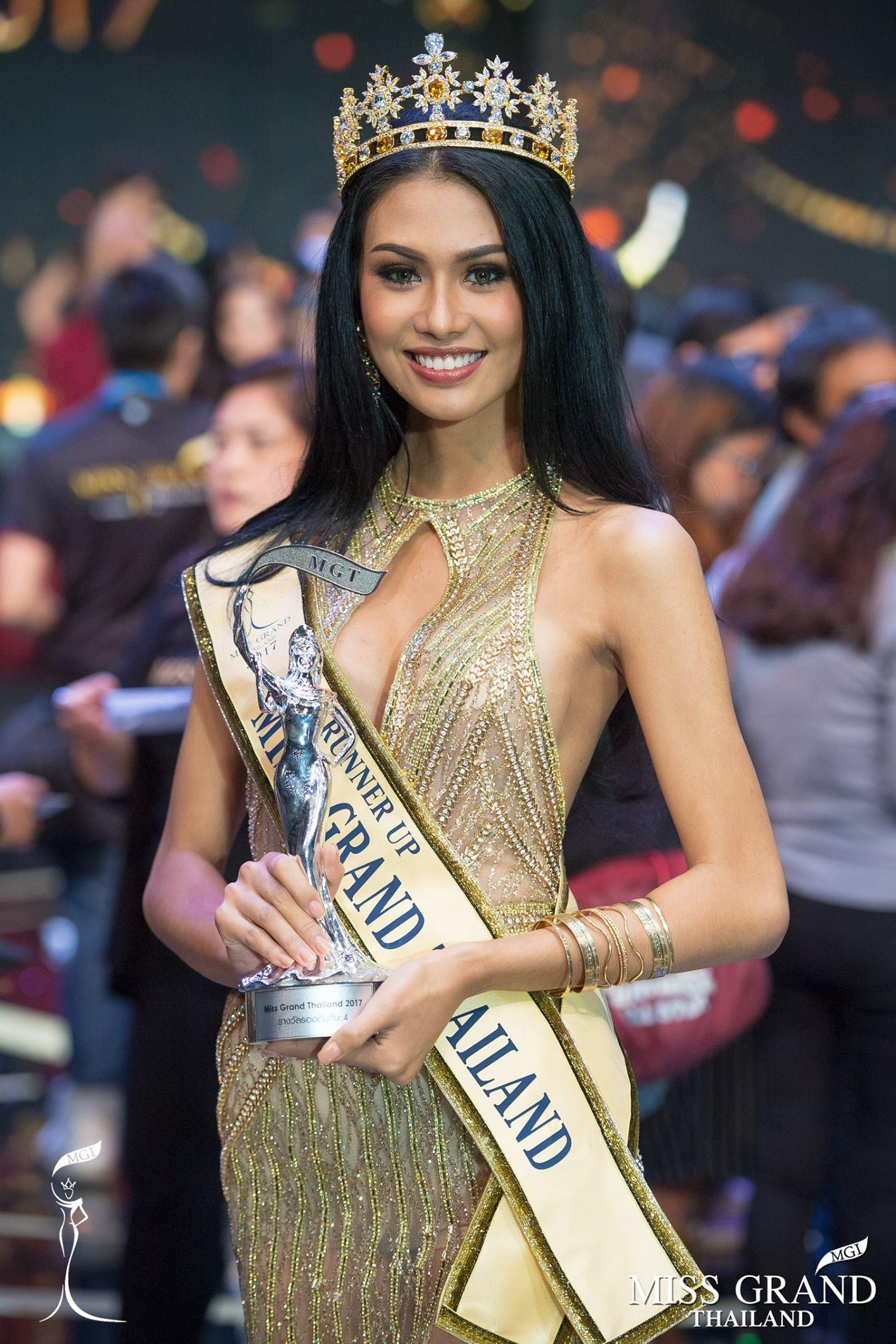 Panghom Kamolrut Tanon Miss Grand Thailand 2017 Fourth Runner-Up (Courtesy - FaceBook/missgrandthailand)