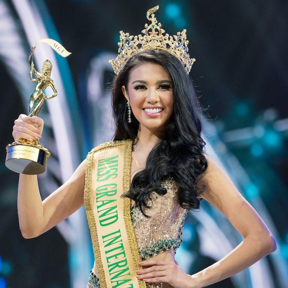 Ariska Putri Pertiwi crowned as Miss Grand International 2016 (Photo Credit - Miss Grand Organisation)