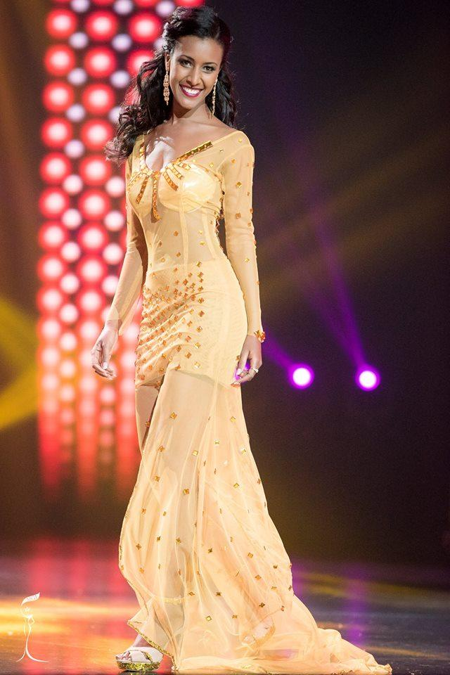 Genet Tsegay Tesfay Miss Grand Ethiopia 2016 in Evening Gown (Photo Credit: Official Facebook/ Miss Grand International Organization)