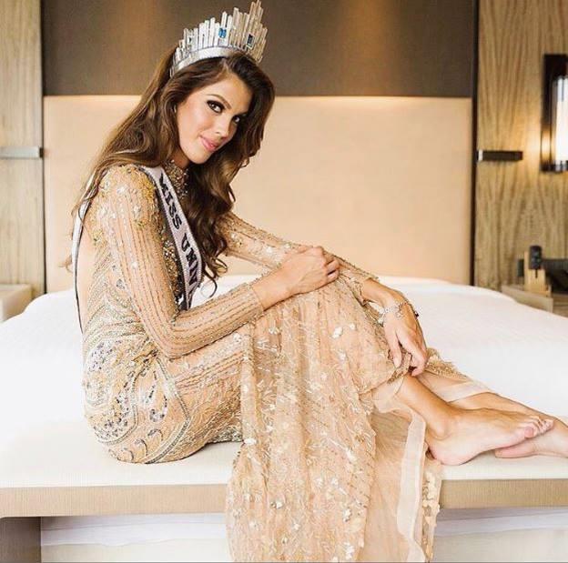 Iris Mittenaere Miss Universe 2016 first photoshoot