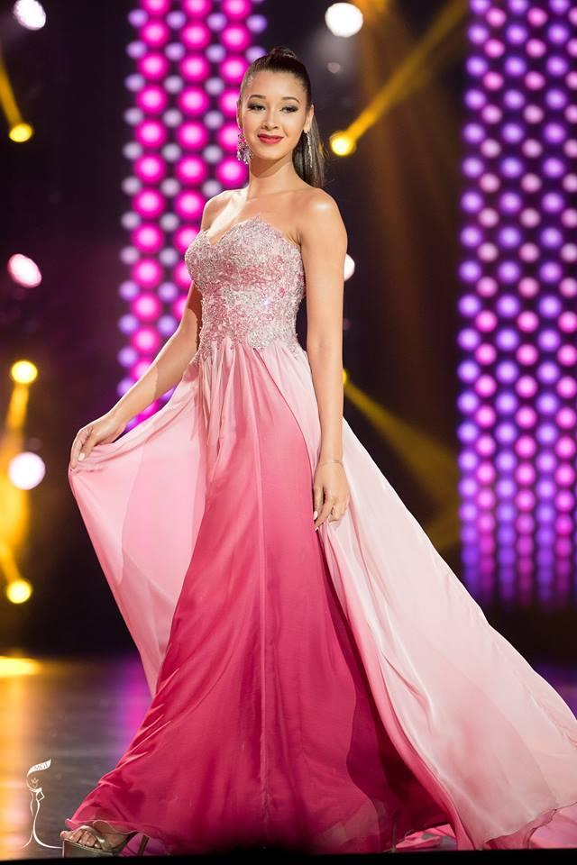 Ana Bomfim Miss Grand Portugal 2016 in Evening Gown (Photo Credit: Official Facebook/ Miss Grand International Organization)