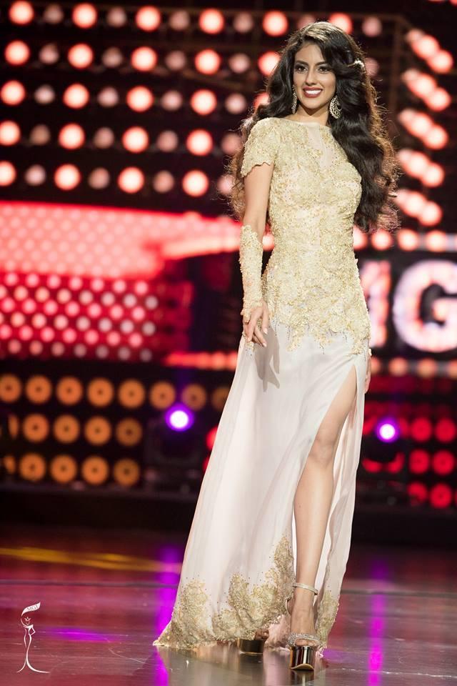 Ranmeet Jassal Miss Grand Malaysia 2016 in Evening Gown (Photo Credit: Official Facebook/ Miss Grand International Organization)