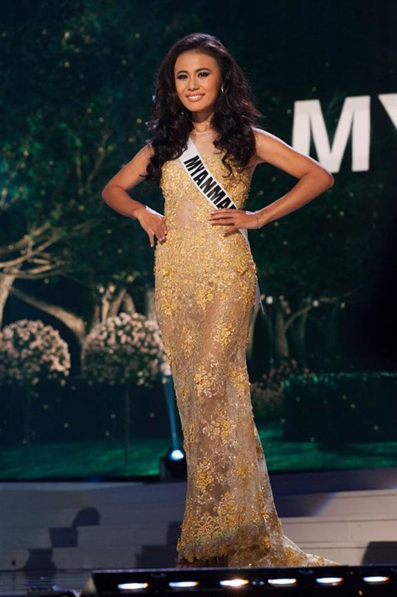 Sharr Htut Eaindra is Miss Universe Myanmar 2014
