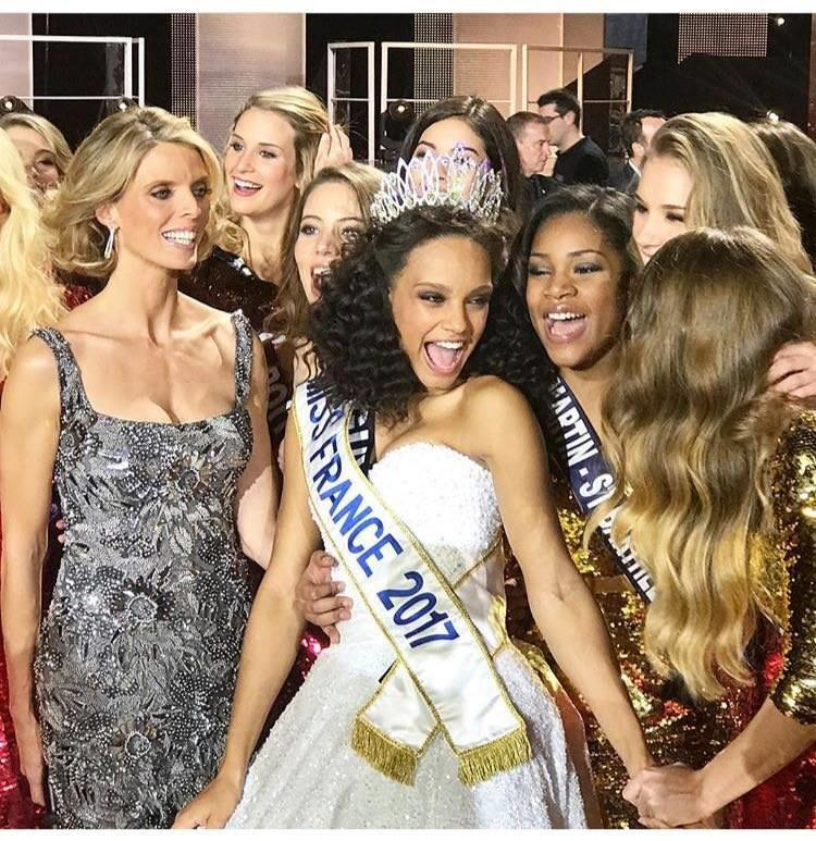 Alicia Aylies crowned as Miss France 2017 (Photo Credits: Miss France Facebook Official)