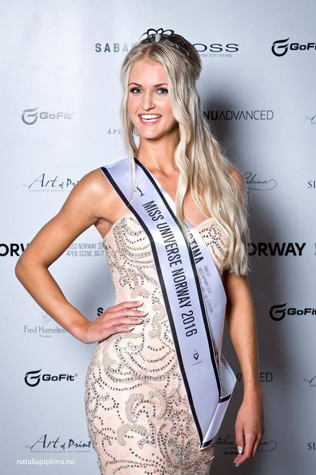 Finale Miss Univers 2018 >> Christina Waage ( Norway ) Miss Universe Norway 2016 Photos | Angelopedia