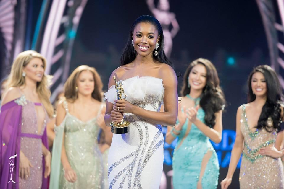 Cherelle Rose Patterson, Miss Grand England 2016 won Best in Evening Gown (Photo Credit: Miss Grand International Organization)