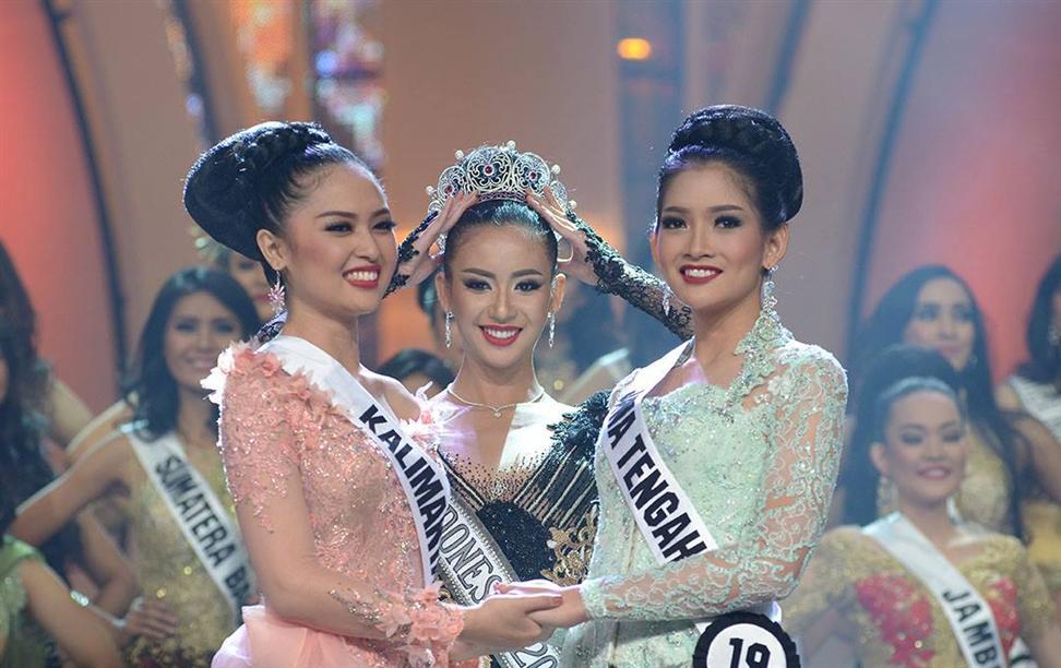 Puteri Indonesia 2015 Top 2 Finalists With Elvira