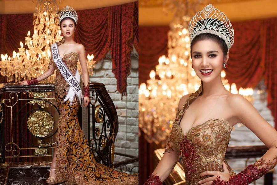 Ariska Putri Pertiwi Miss Grand Indonesia 2016 (Photo Credit: Official Facebook/ Miss Grand International Organization)