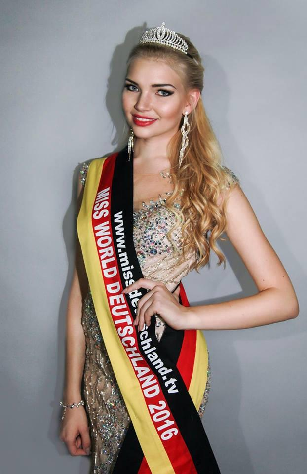 Selina Kriechbaum Contestant From Germany For Miss World