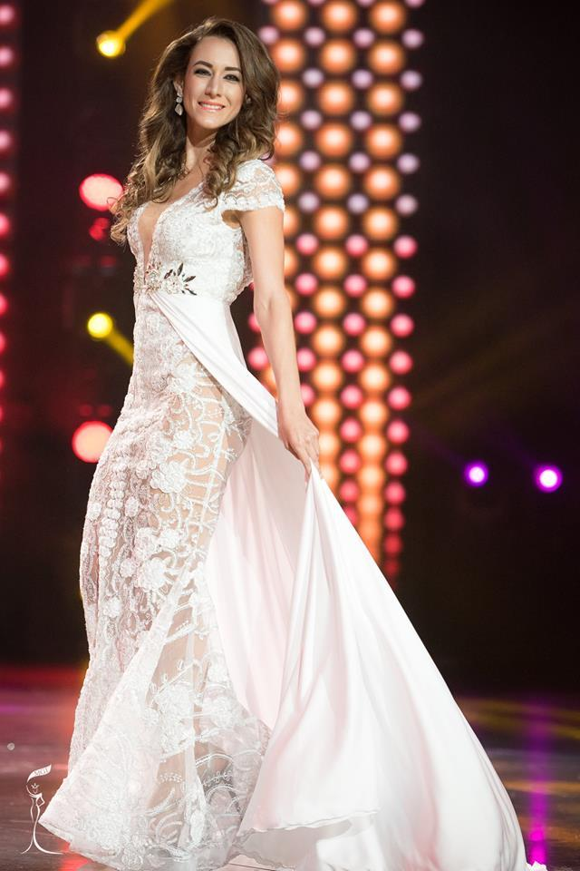 Michelle Lacayo Miss Grand Nicaragua 2016 in Evening Gown (Photo Credit: Official Facebook/ Miss Grand International Organization)
