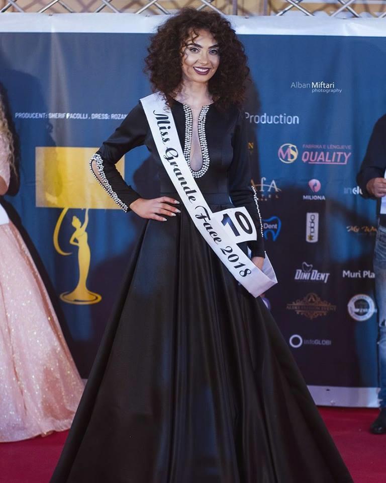 Lirimtare Sedolli Finalist Miss Universe Kosovo Kosova 2018 Photo Courtesy MU Kosovo Official