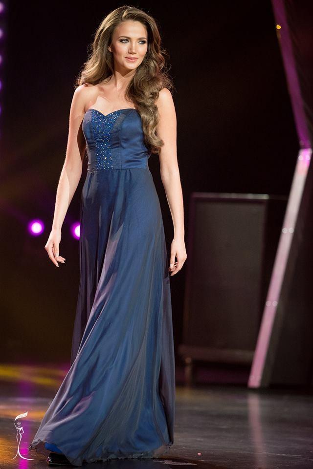 Veronika Mykhailyshyn Miss Grand Ukraine 2016 in Evening Gown (Photo Credit: Official Facebook/ Miss Grand International Organization)
