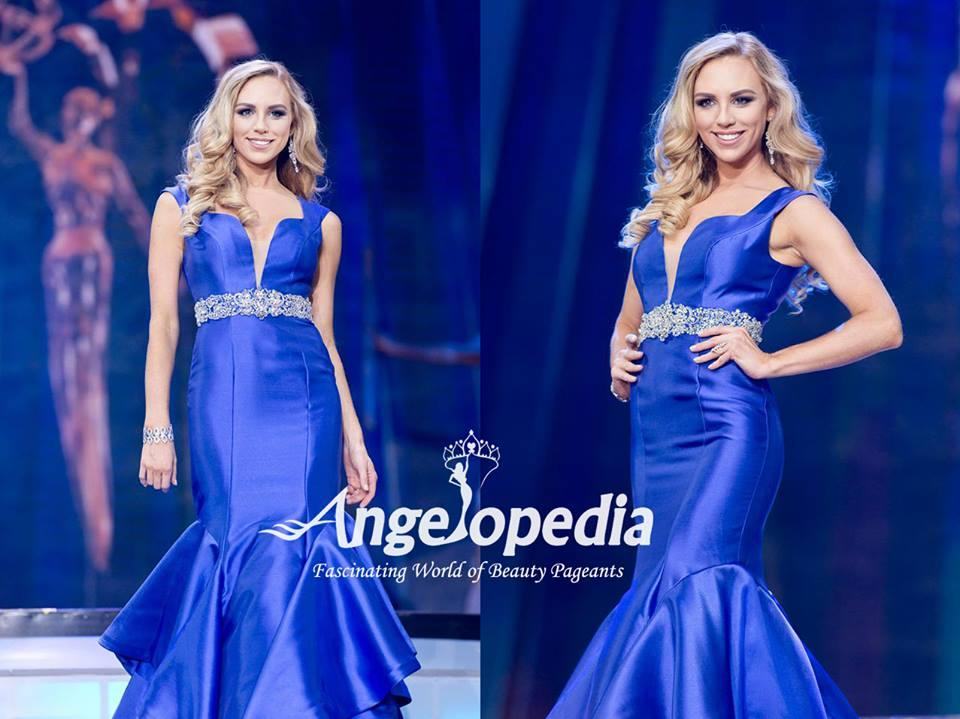 Lyndl Kean from Australia - Evening Gown Round Top 16 finalists Miss Earth 2016