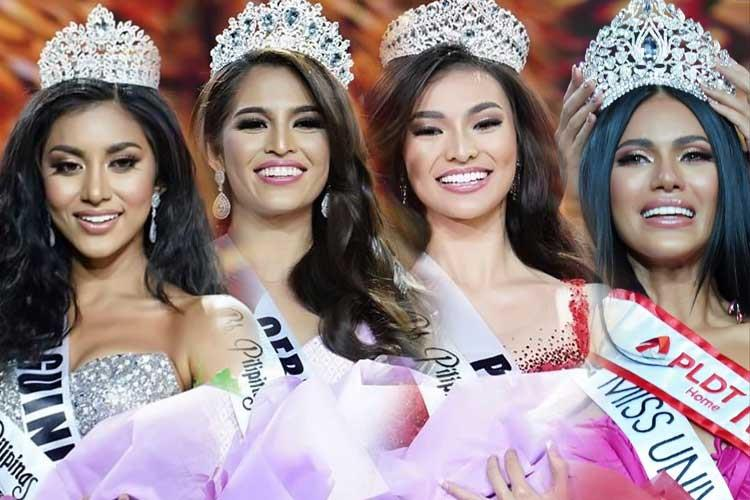 Team Philippines for International Beauty Pageants 2019