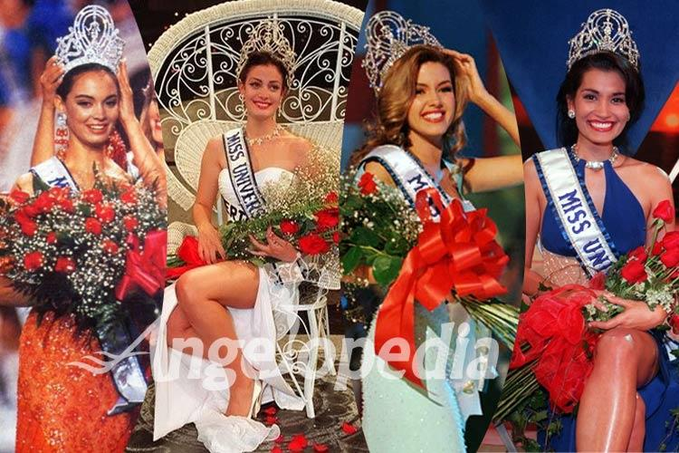 Miss Universe titleholders from 1991 to 2000