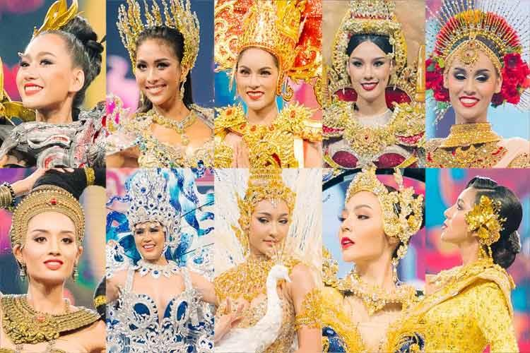 Our favourites from Miss Grand Thailand 2019 National Costume Competition